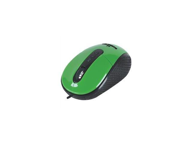 Optical Mouse, Green, USB