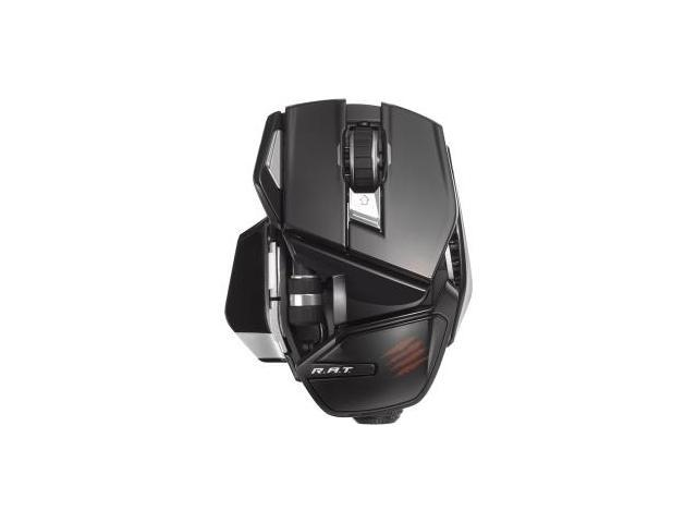 Mad Catz Office R.A.T. Wireless Mouse for PC, Mac, and Android - Laser - Wireless - Bluetooth - Glos