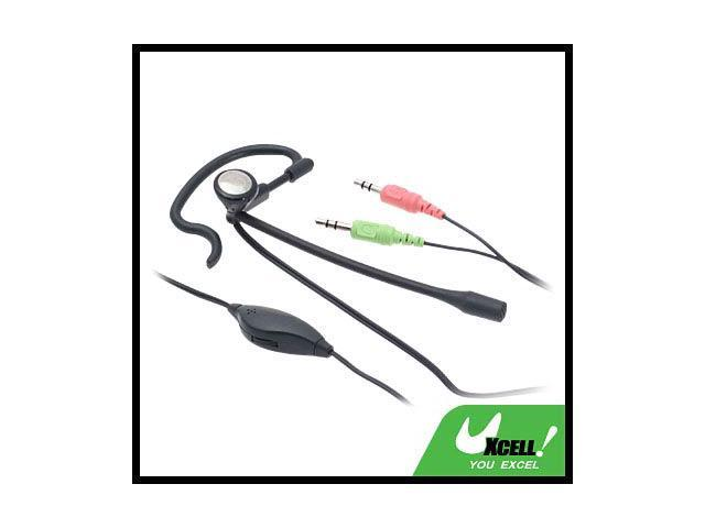 JV21202 Ear-Hook Headset with Microphone Volume Control