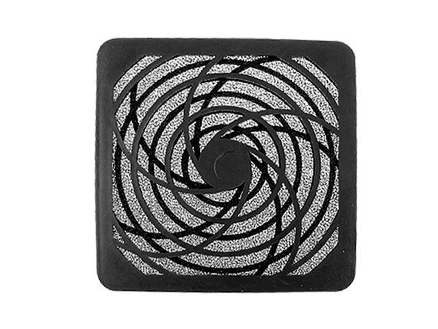 3 Pcs Black Filter Dust Guard 12cm 120mm Case Fan for Computer PC