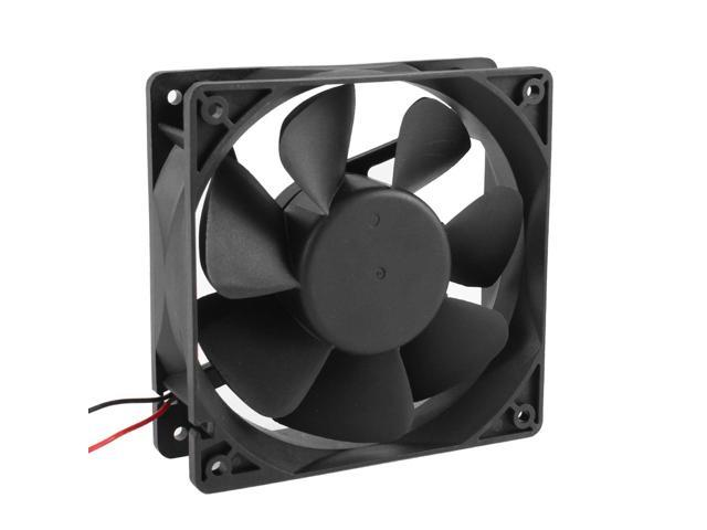 12cm 120mm DC 12V 2 Wire Brushless Computer Case CPU Cooling Fan