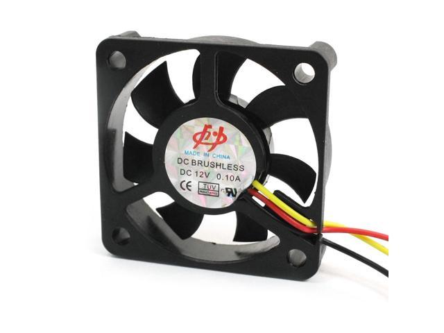 DC 12V Wired 3 Pin Connector Brushless Motor Computer CPU Cooling Fan