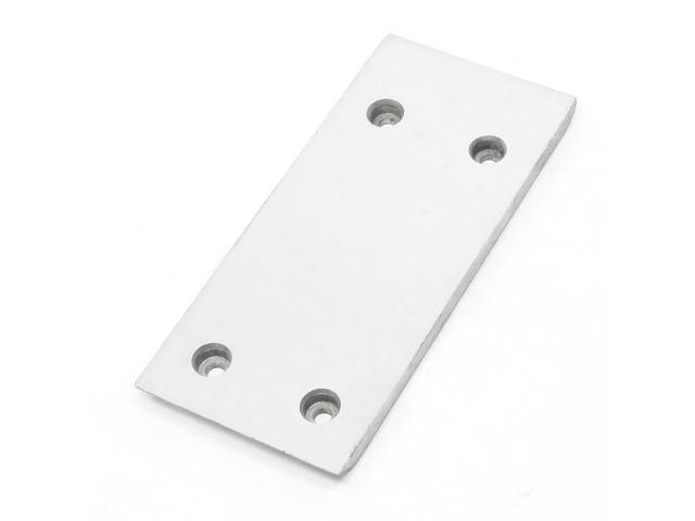 Silver Tone Rectangle Shape Plate for Makita 1900 Electric Planer