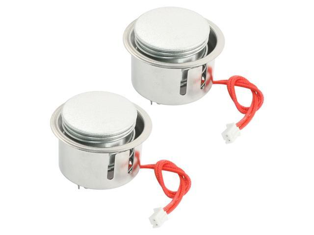 2Pcs Electric Rice Cooker Spare Parts Magnetic Two-Wires Metal Center Thermostat