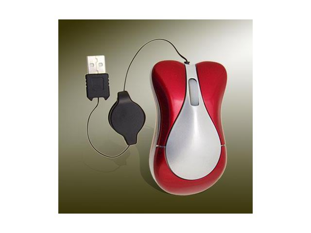 800DPI USB PS2 Retractable Optical PC Notebook Mouse