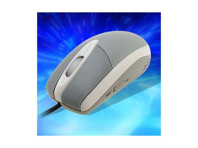 USB Computer PC Laptop Optical Mouse 800 DPI Gray New