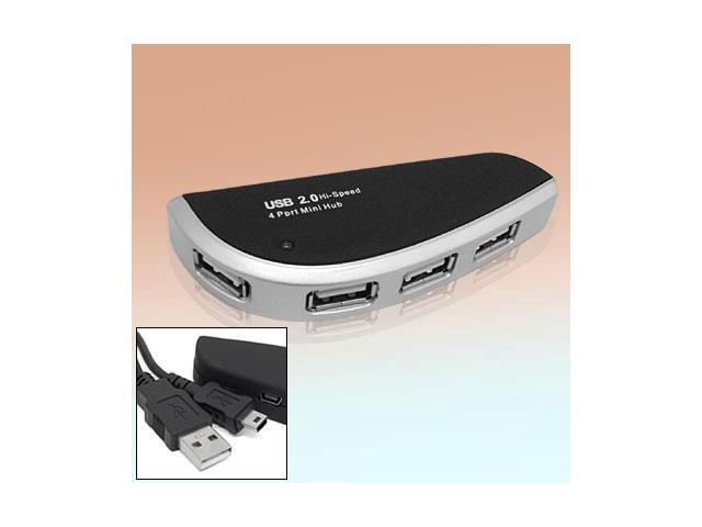 Mini Computer PC Laptop 480Mbps USB 2.0 4 Port USB Hub