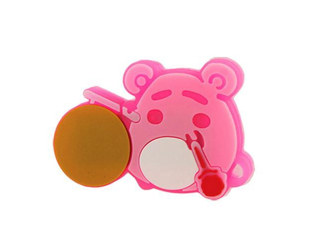 Hamster Shape T-Flash Micro SD Card Reader Hot Pink