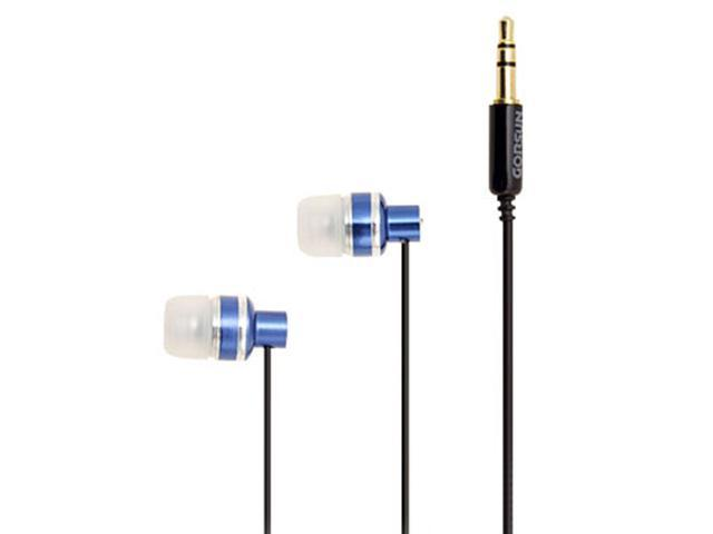 Blue 3.5mm Stereo Earphones Headphones for MP3 Player