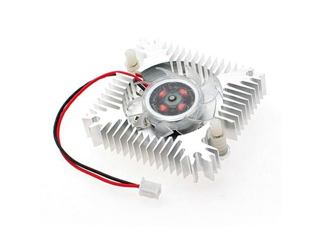 PC VGA Video Card 2 Pin 55mm Cooler Cooling Fan Heatsink 4800 RPM DC 12V