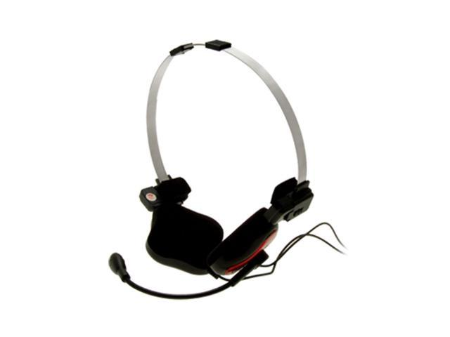 Rotary 3.5mm Microphone Earphone Headset for Computer
