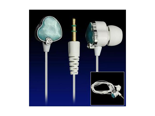 3.5mm Heart-shaped Earphone Headphone for MP3 MP4