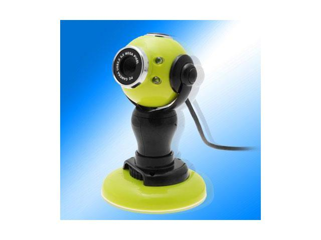 Computer PC USB Video Webcam Web Digital Camera Green