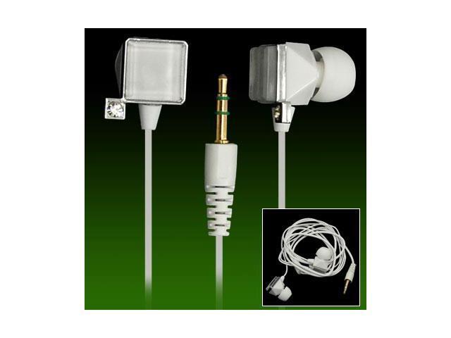 Stylish White 3.5mm Earphone Headphone for MP3 MP4