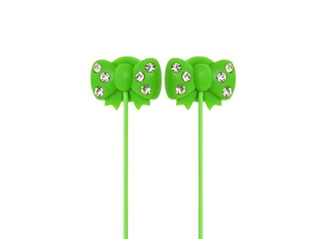 Bowknot 3.5mm Bowknot Shaped Earphone Headphone for MP3 MP4