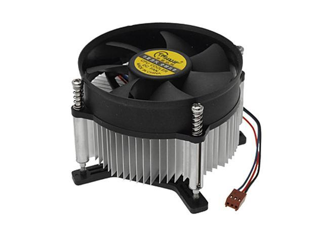 DC 12V 3 Pin Aluminum Heatsink Cooling Fan CPU Cooler for Intel LGA 775