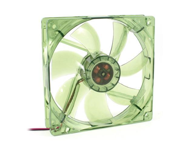 120mm x 25mm 12VDC 4Pin 4 Blue LED PC Computer Case Cooling Fan Green