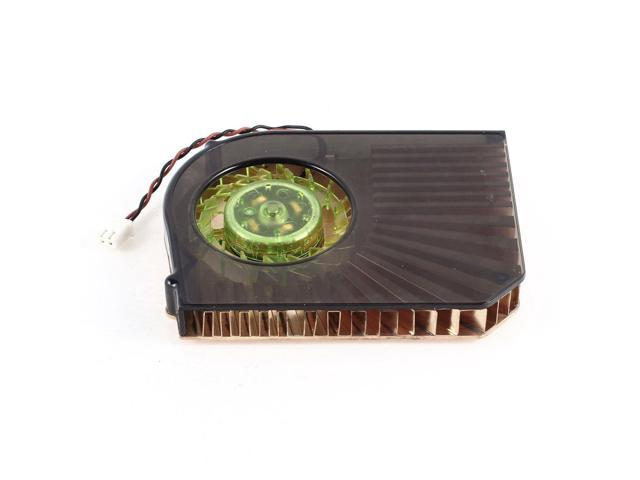 PC Copper 2 Pins Connector Heatsink Cooler DC 12V 0.21A CPU Cooling Fan
