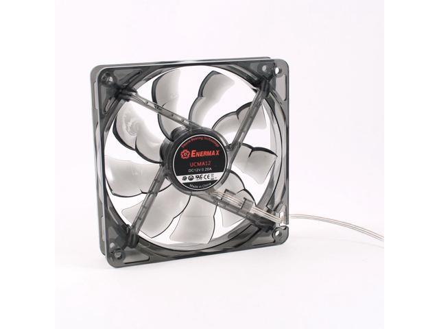 120mm 12cm 3 Pin Power Supply Hydraulic Bearing Computer Case Fan 0.2A Gray