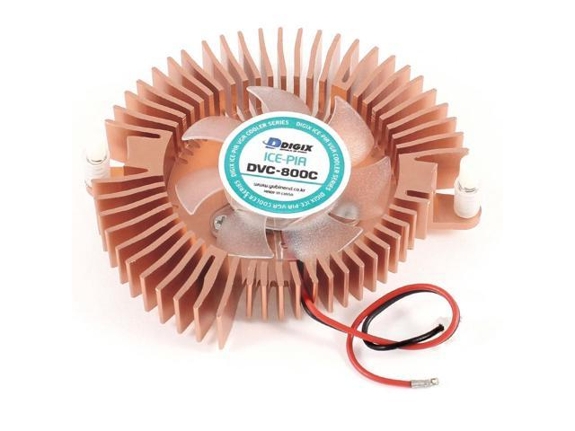 80mmx70mmx15mm DC 12V PC VGA Cooler Video Card Cooling Fan Heatsink 3800RPM 20dB