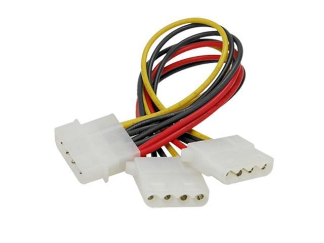 8-inch 4pin IDE Y Extension Power Supply Splitter Cable