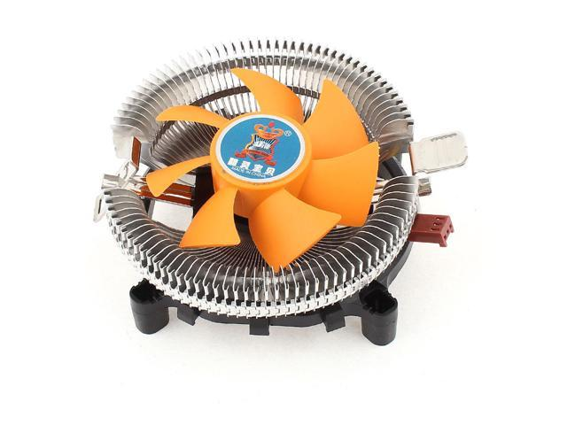 Desktop PC Cooling Fan Heatsink CPU Cooler DC 12V 3Pin for Intel LGA 775 Core 2