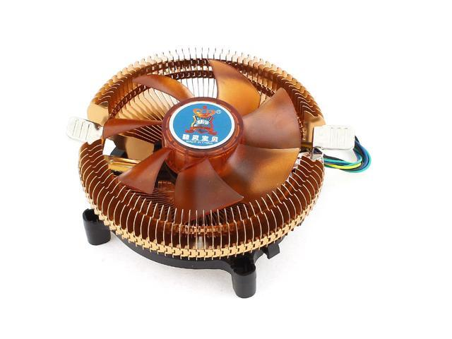 Desktop PC Cooling Fan Heatsink CPU Cooler DC 12V 4Pin for Intel LGA 775