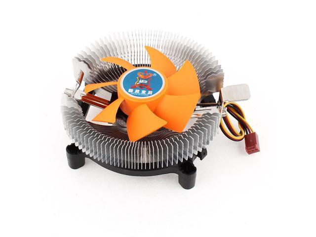 PC Cooling Fan Heatsink CPU Cooler DC 12V 3Pin for Intel LGA 775 AMD AM2 AM3