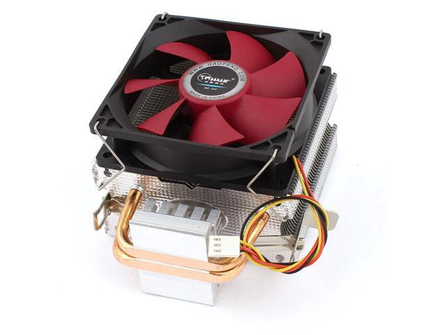 DC 12V 11dB 3Pins Connector CPU Cooler Cooling Fan Heatsink for LGA775/1366/1156