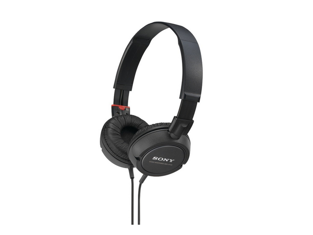 Sony MDRZX100/BLK ZX Series Stereo Headphones(Black)