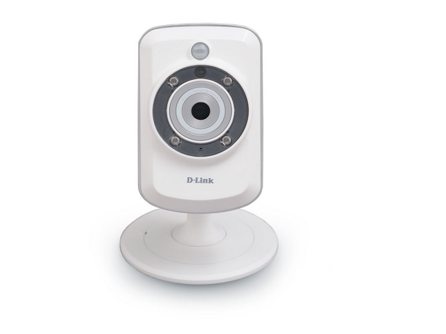 D-Link Wireless Day/Night microSD Network Surveillance Camera with mydlink-Enabled, DCS-942L (White)