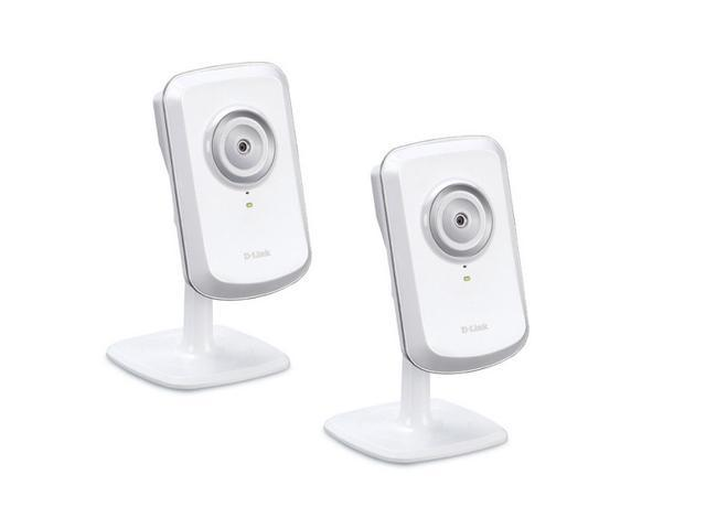 D-Link Wireless Day Network Surveillance Camera with mydlink-Enabled, DCS-930L/2 (White) Two-Pack