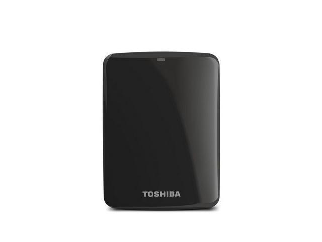 Toshiba Canvio Connect 2TB Portable Hard Drive, Black (HDTC720XK3C1)
