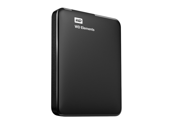 WD 500 GB WD Elements Portable USB 3.0 Hard Drive Storage (WDBUZG5000ABK-NESN)