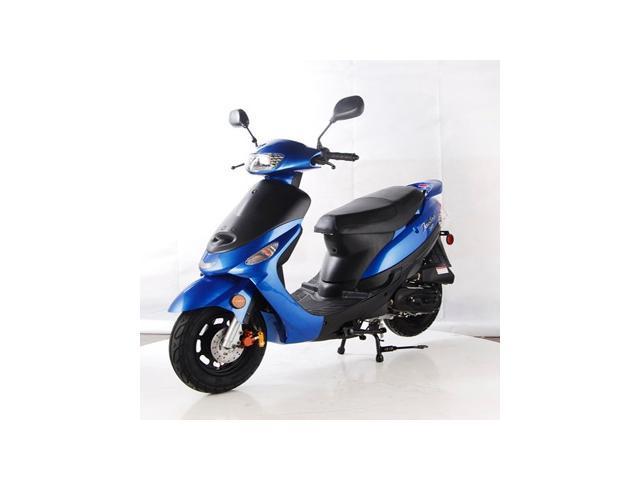 TaoTao ATM50-A1 Gas Street Legal Scooter - Blue