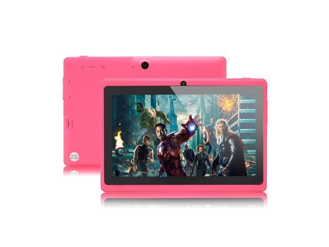 iRulu 7 inch Android Tablet PC, 4.2 Jelly Bean OS, Dual Core, Allwinner A23 CPU, Dual Cameras, 5 Point Capacitive Touch Screen, 16GB Storage - ...