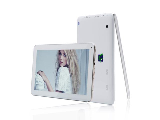 "IRULU X1s Quad Core 10.1"" Google Android Tablet - HD IPS Screen, Quad Core (4X1.3GHz), 1G RAM, 8G NAND Flash, Bluetooth, Android 4.4, Google Play ..."