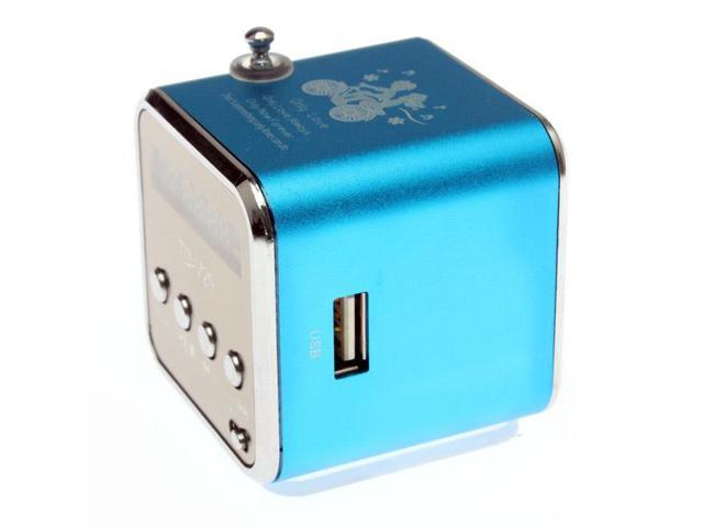 SD TF USB MP3 Music Player Portable Rechargeable PC MP3 FM Mini Speaker