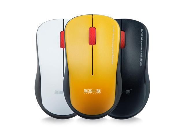 New product. Wireless mouse used network TV box office - computer optical mouse 2 4G JS w01