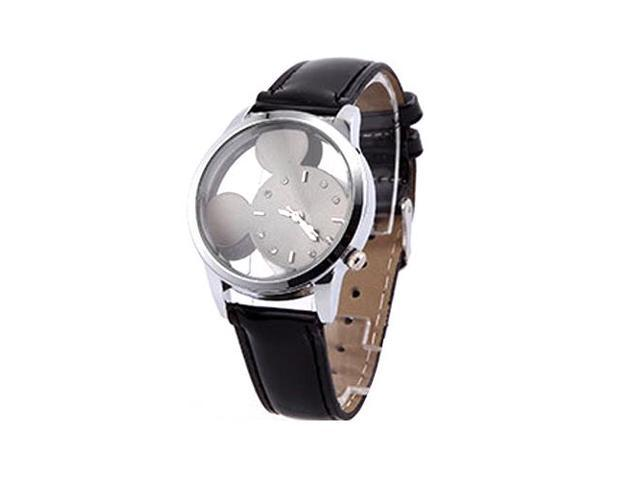 Children's fashion watches for a long time Waterproof fashion watches black