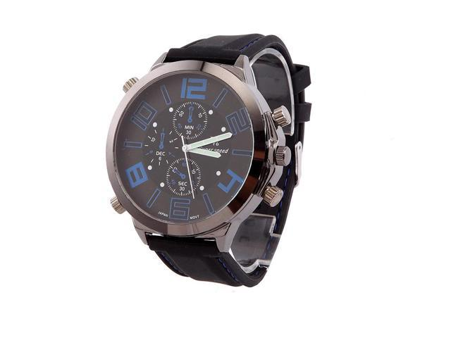 Long-term distribution of ultra-thin sports watch Waterproof fashion sports watches blue