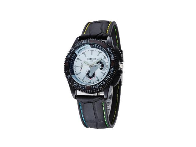 Fashion sports watches for a long time Individuality creative movement watches watches Hot Sales WeideJIEER white