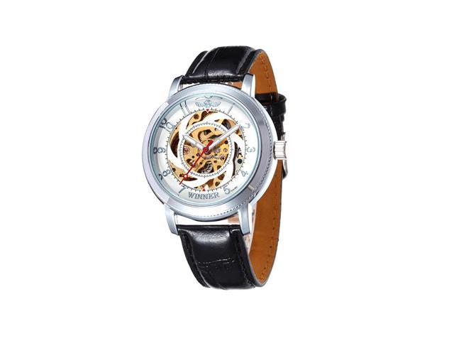 Mechanical watches Fully automatic mechanical watches Popular fashion sports watches WINNER white