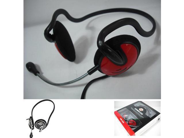 Af earphone headset Lightweight computer headphones online volume control Two headphones plug For Sumsung Iphone 4\4s\5\5s\6\6 plus smartphones ...
