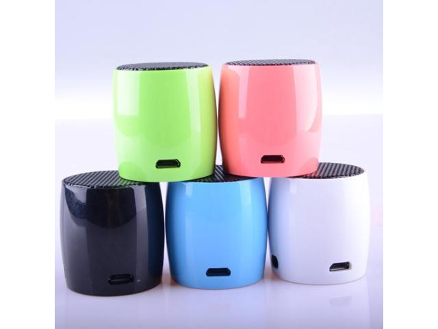 Mini CR 605 multicolor computer phone bluetooth speaker exquisite compact bluetooth speakers for Sumsung Iphone smartphones PC Computer Laptop ...