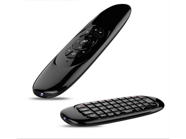 2.4G wireless Mouse air mouse remote control 3 axis gyro air flying squirrel somatosensory gaming mouse Wireless Keyboard