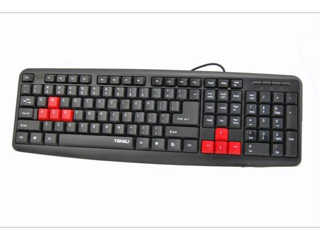 2014 new Wired USB K600 Gaming Keyboard For Laptop Or Desktop