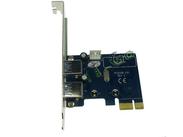 High quality! PCI express USB3.0 expansion card PCIe card PCI-e to USB3.0 adapter