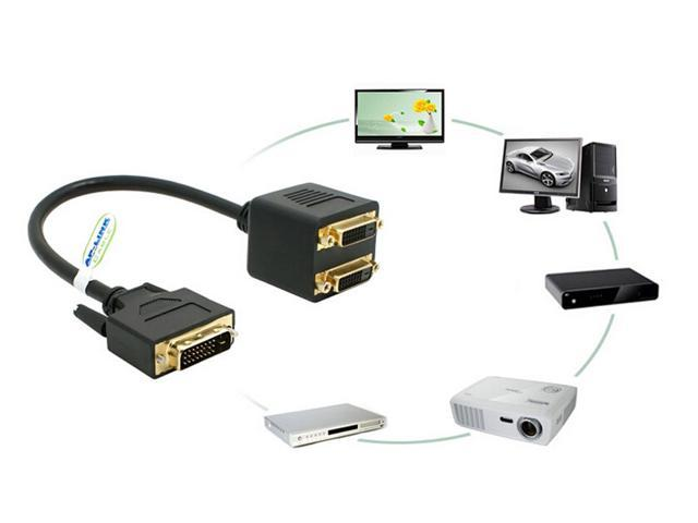 DVI24 + 1 revolution DVI24 + 1 female 2 DVI cable dvi turn one point two one point two dvi adapter