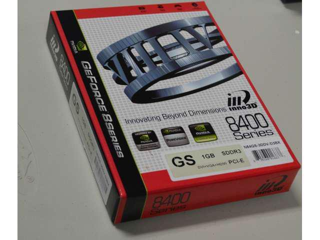 Inno3D nVidia GeForce 1GB DDR3 VGA/DVI/HDMI PCI-Express x 16 Video graphics Card shipping from US